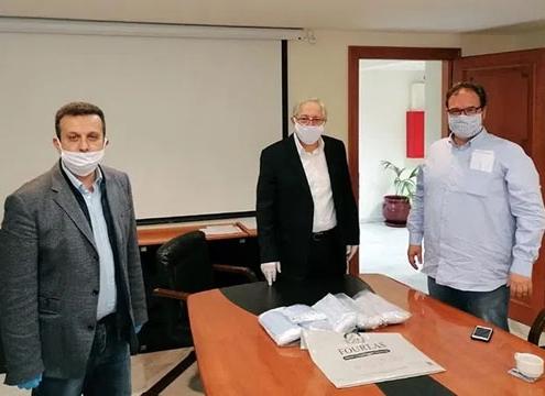 Ο Δήμος Αμαρουσίου παρέλαβε την Πέμπτη 9/4 είδη αυτοπροστασίας (γάντια μίας χρήσης, μάσκες)